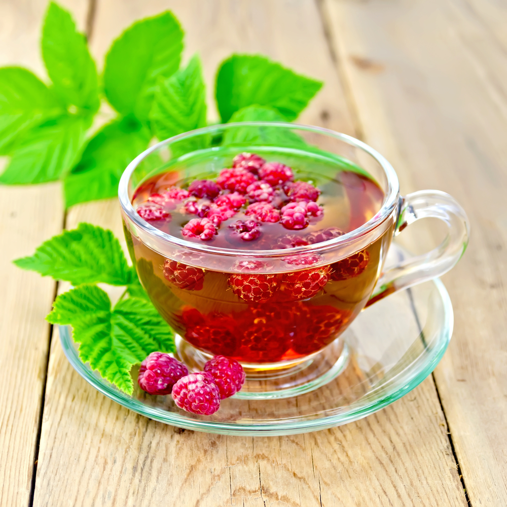 Raspberry leaf tea